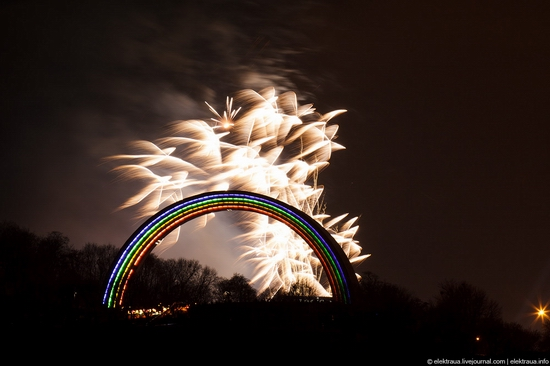 New Year's Eve, Kiev street view 16