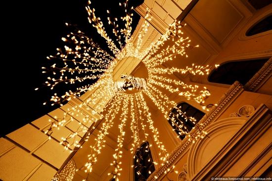 New Year's Eve, Kiev street view 4