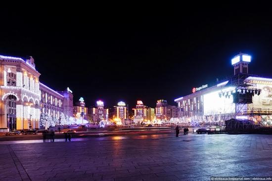 New Year's Eve, Kiev street view 5