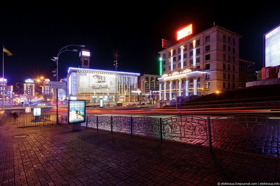 New Year's Eve, Kiev street view 6