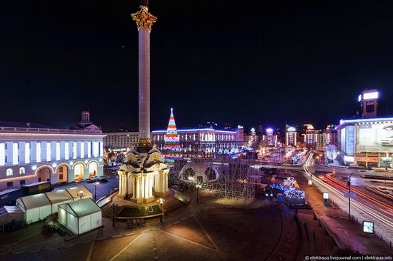 New Year's Eve, Kiev street view 7