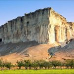Natural monument Belaya Skala in the Crimea