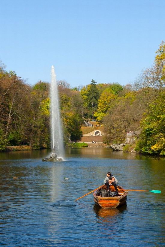 Sofiyivka dendrological park, Uman, Ukraine view 11