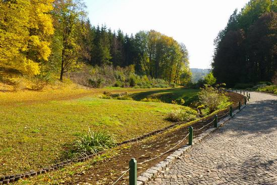 Sofiyivka dendrological park, Uman, Ukraine view 6