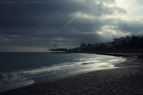 Early spring in Yalta, Ukraine view 22