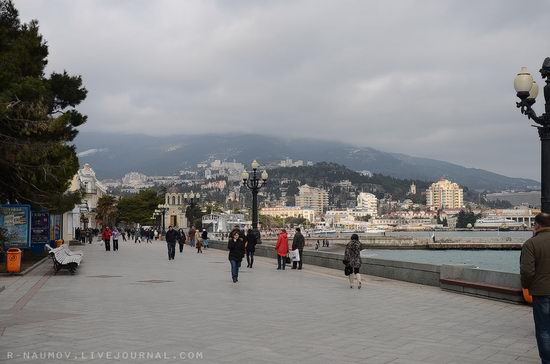 Early spring in Yalta, Ukraine view 5