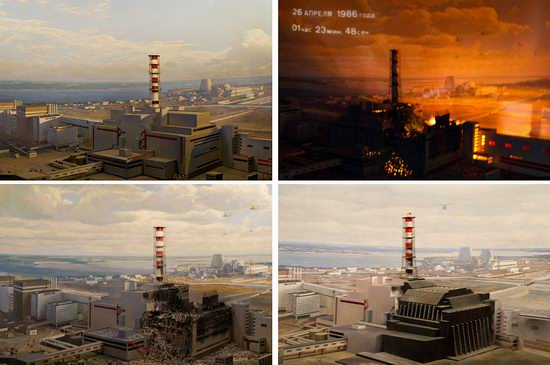 Chernobyl museum, Kiev, Ukraine view 7