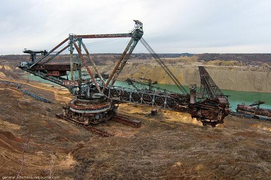 Post-apocalyptic views of abandoned mine, Ukraine 1