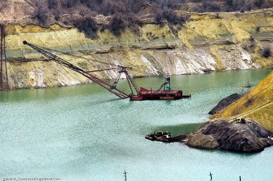 Post-apocalyptic views of abandoned mine, Ukraine 10