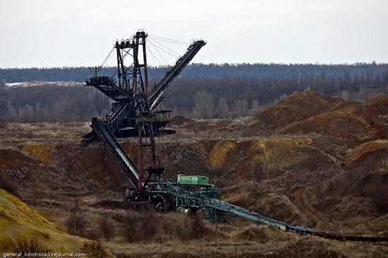 Post-apocalyptic views of abandoned mine, Ukraine 4