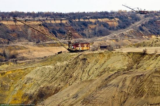 Post-apocalyptic views of abandoned mine, Ukraine 5