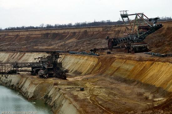 Post-apocalyptic views of abandoned mine, Ukraine 6