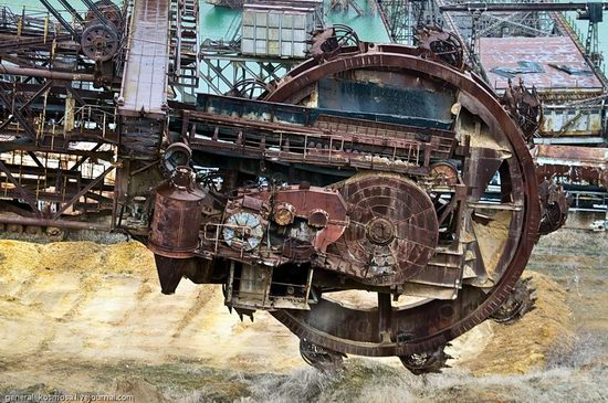 Post-apocalyptic views of abandoned mine, Ukraine 7