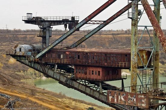 Post-apocalyptic views of abandoned mine, Ukraine 8