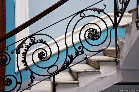 The staircases of Odessa houses, Ukraine view 13