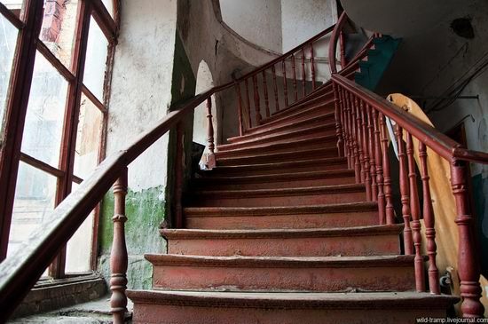 The staircases of Odessa houses, Ukraine view 2