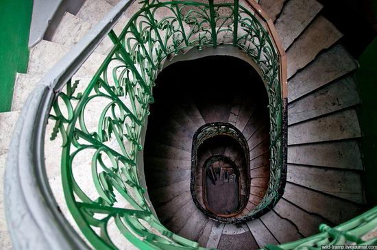The staircases of Odessa houses, Ukraine view 3