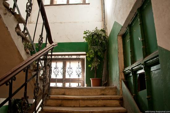 The staircases of Odessa houses, Ukraine view 4