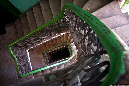 The staircases of Odessa houses, Ukraine view 5