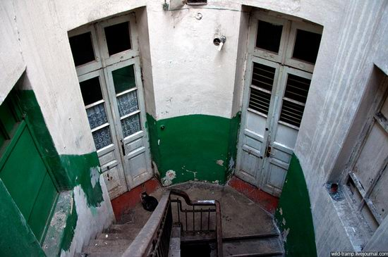 The staircases of Odessa houses, Ukraine view 7