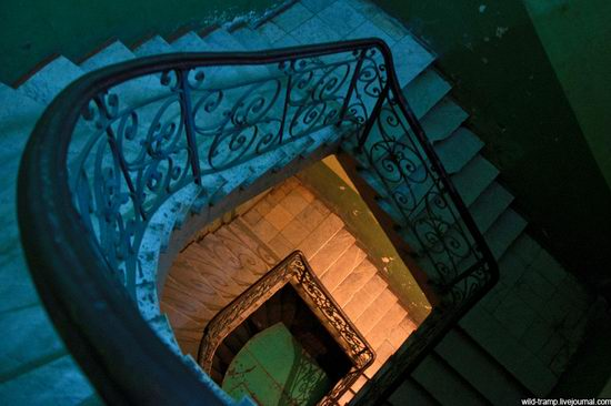 The staircases of Odessa houses, Ukraine view 8