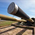 The 30th coastal artillery battery in Sevastopol