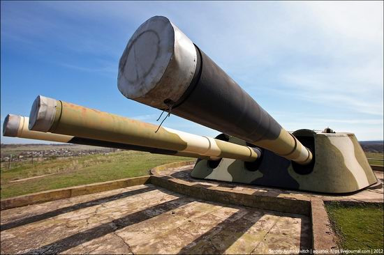 The 30th coastal artillery battery in Sevastopol, Crimea, Ukraine view 1