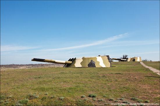 The 30th coastal artillery battery in Sevastopol, Crimea, Ukraine view 2