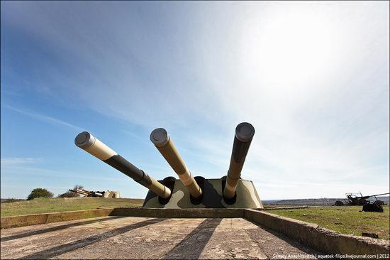 The 30th coastal artillery battery in Sevastopol, Crimea, Ukraine view 3