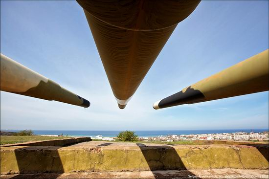 The 30th coastal artillery battery in Sevastopol, Crimea, Ukraine view 5