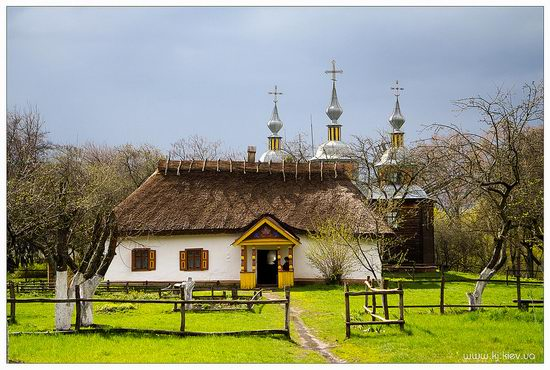 Folk architecture and life museum, Ukraine view 1