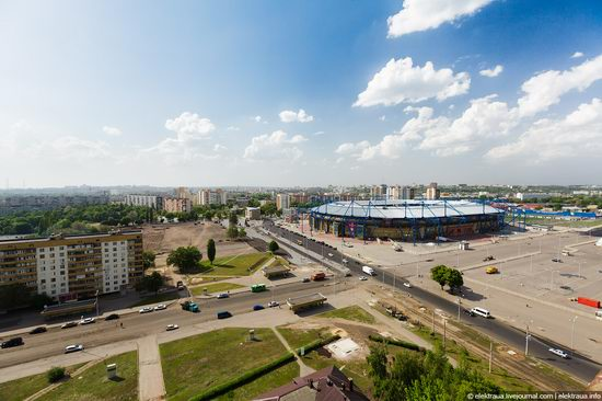 Metalist - Euro 2012 stadium, Kharkov, Ukraine view 10