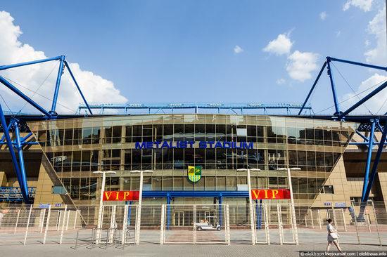 Metalist - Euro 2012 stadium, Kharkov, Ukraine view 11