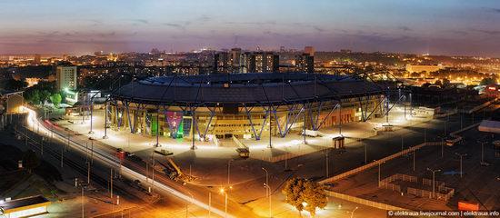 Metalist - Euro 2012 stadium, Kharkov, Ukraine view 13
