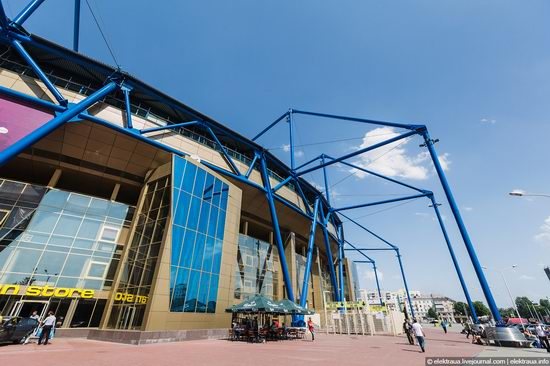 Metalist - Euro 2012 stadium, Kharkov, Ukraine view 2