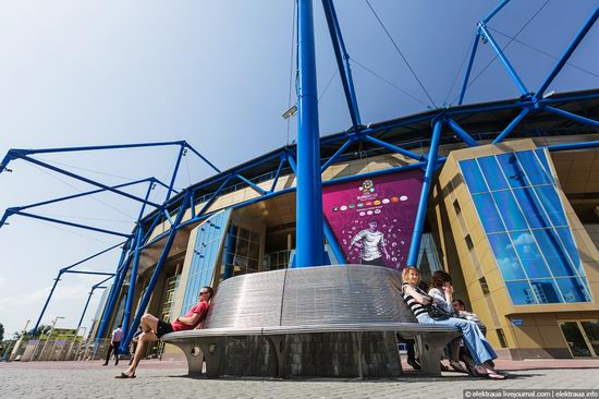 Metalist - Euro 2012 stadium, Kharkov, Ukraine view 5