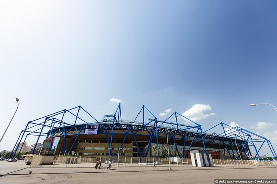 Metalist - Euro 2012 stadium, Kharkov, Ukraine view 6