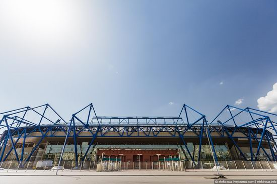 Metalist - Euro 2012 stadium, Kharkov, Ukraine view 7