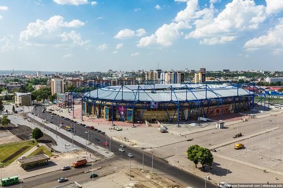 Metalist - Euro 2012 stadium, Kharkov, Ukraine view 9