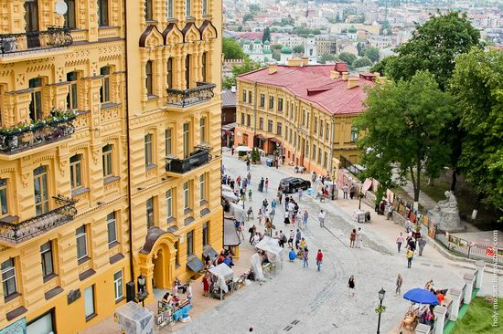 Andrew's Descent, Kiev, Ukraine view 1