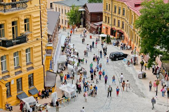 Andrew's Descent, Kiev, Ukraine view 7
