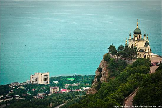 Ascension church, Foros, Crimea, Ukraine view 6