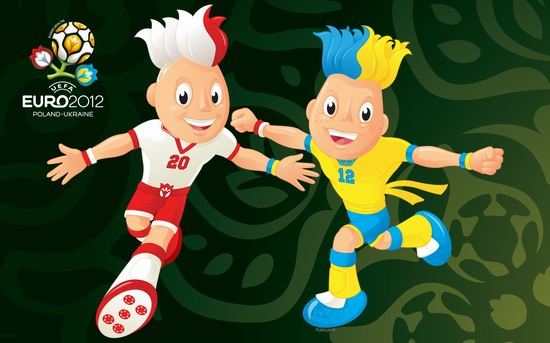 Euro 2012 mascots, Poland and Ukraine 1