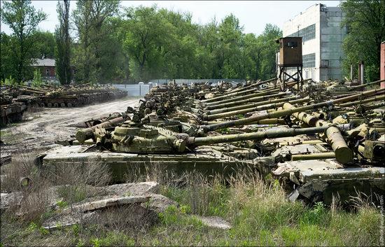 Kharkov tank repair plant, Ukraine