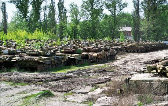 Kharkov tank repair plant, Ukraine view 11