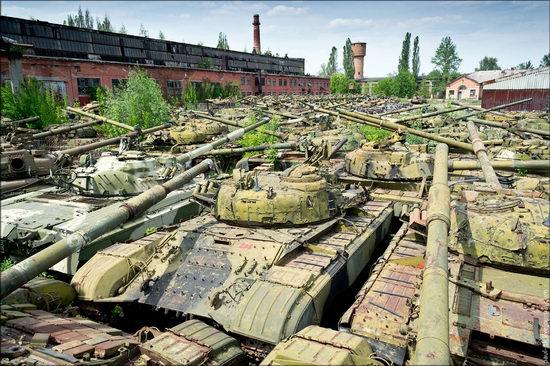 Kharkov tank repair plant, Ukraine view 12