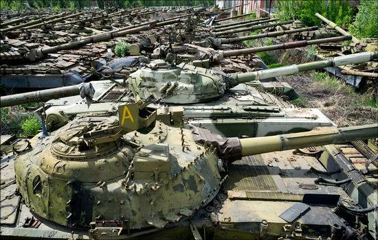 Kharkov tank repair plant, Ukraine view 13