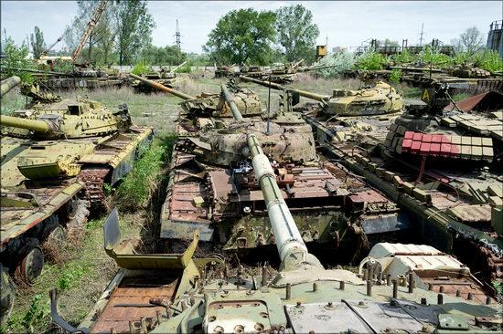 Kharkov tank repair plant, Ukraine view 14