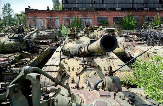 Kharkov tank repair plant, Ukraine view 15