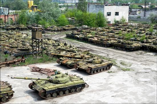 Kharkov tank repair plant, Ukraine view 19